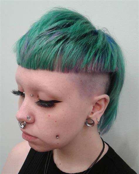 punk hairstyles  women trending
