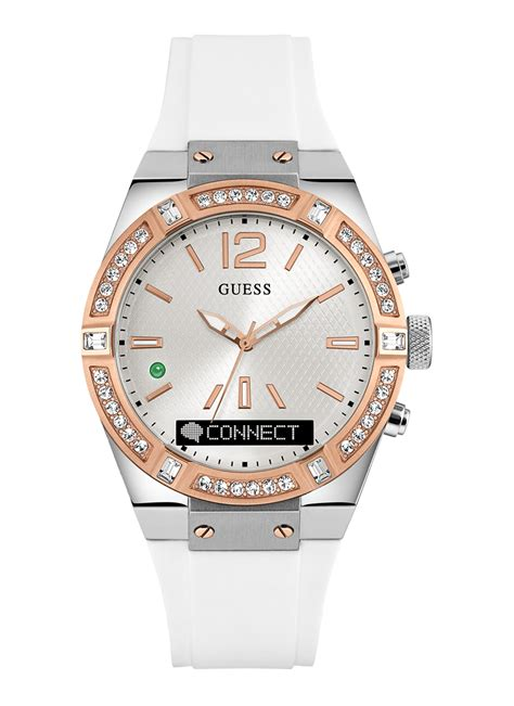 Guess 20563 Gold White guess watches buy for at best prices