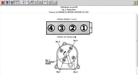 honda accord distributor wiring wiring diagram