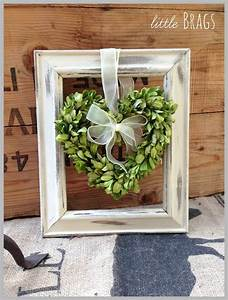 Best 25 frame wreath ideas on pinterest picture frame for What kind of paint to use on kitchen cabinets for framed monogram wall art