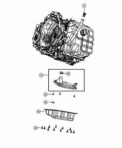 2012 Dodge Grand Caravan Filter Package  Transmission Oil