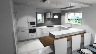 plan de travail cuisine en resine 1 cuisine blanche et