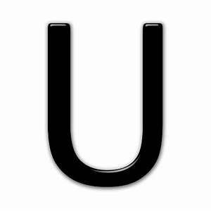 Capital Letter U Icon #074134 » Icons Etc