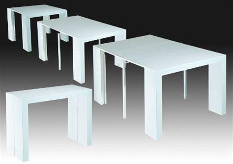 table console laque blanc pas cher