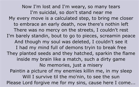 shed so many tears tupac lyrics