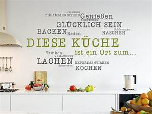 Beautiful wandtatoos fur kuche contemporary ideas for Wandtatoos für küche