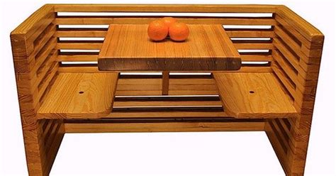 recycled bowling alleys  awesome wood furniture