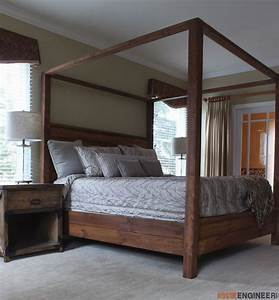 canopy bed king size rogue engineer With how to buy king size canopy bed