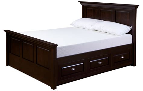 white wooden king size bed frame beds with drawers underneath homesfeed