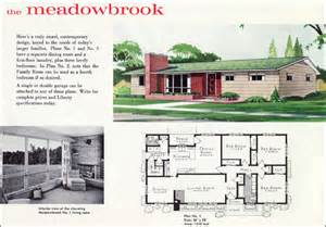 Stunning 1960 House Plans Photos by 1960 Contemporary Mid Century Ranch Plan The Meadowbrook
