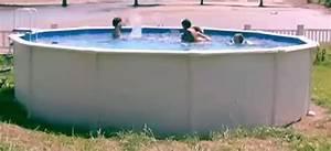 Piscine Hors Sol Metal : piscine hors sol nautyl ~ Dailycaller-alerts.com Idées de Décoration