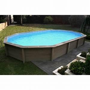 Piscine En Kit Enterrée : kit piscine b ton aspect bois naturalis ~ Melissatoandfro.com Idées de Décoration