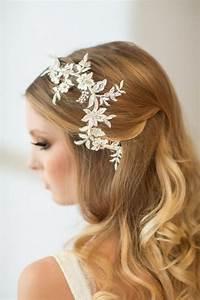 Wedding Hair Vine Lace Head Piece Bridal Hair Accessory