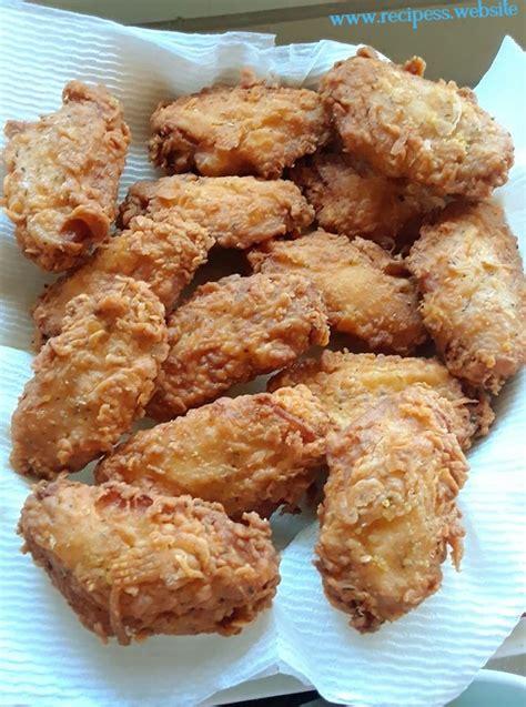 buttermilk fried chicken wing flats recipes website