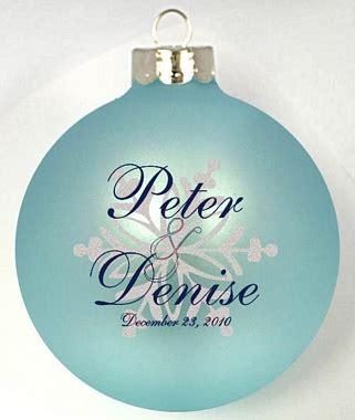 customized wedding ornaments