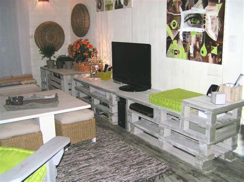 chambre en palette plan meuble palette