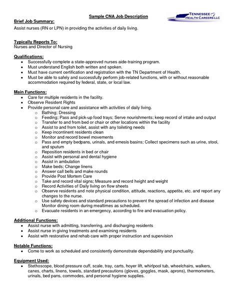 A Cna Job Description Let's Read Between The Lines. Executive Resume Template. Marketing Resume Keywords. What Should I Include In My Resume. Resume For Nurses. Best Resume Formates. Resume Cover Letter Format Sample. Front End Web Developer Resume Sample. Computer Engineering Resume