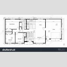 Split Level House Floor Plan With Room Names And