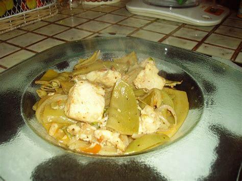 silure cuisine panga et pois mange tout les zazaneries d 39 isabelle