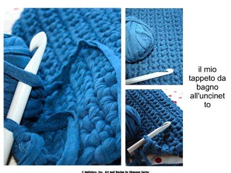 Maglia ed altre piccole passioni: tappeto da bagno con