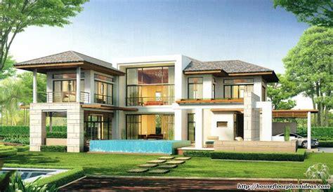 modern house design  modern tropical style double storey house house floor plans
