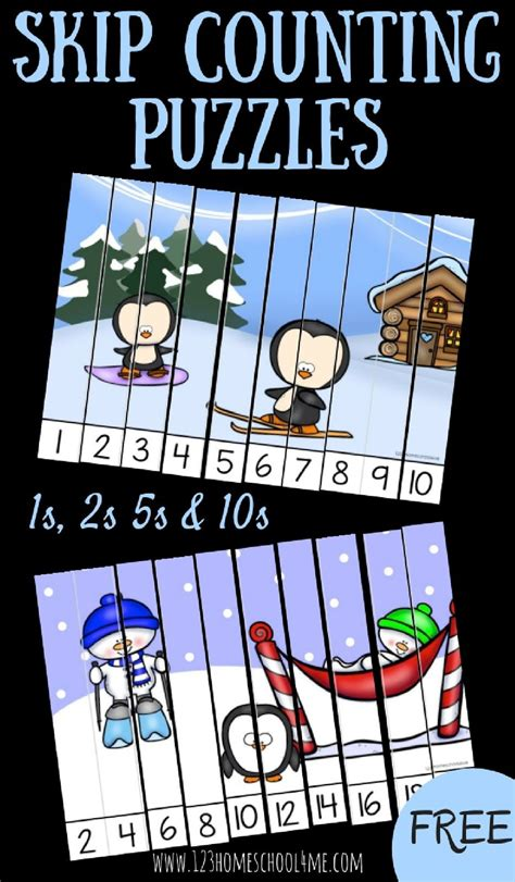 winter skip counting puzzles math counting puzzles 268 | 9440e670f34edffa50cb072b9fa2e405