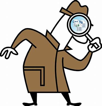 Detective Conclusions Investigation Clipart Cartoon Hunt Scavenger