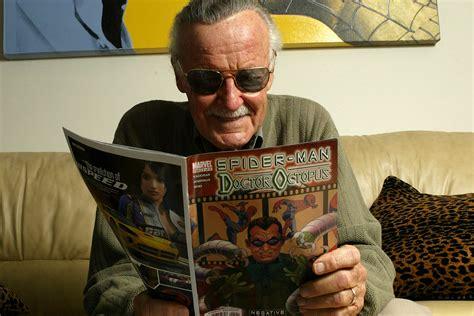 comic book legend stan lee turns  top   film