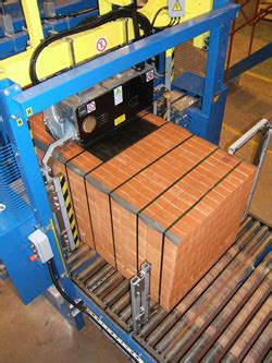 oms ts brick station strapping machine gordian strapping