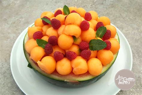 salade de fruits originale faire un bol melon ou en past 232 que