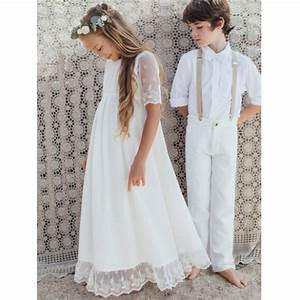 Robe Style Boheme : robe fille thelma les petits inclassables ~ Dallasstarsshop.com Idées de Décoration