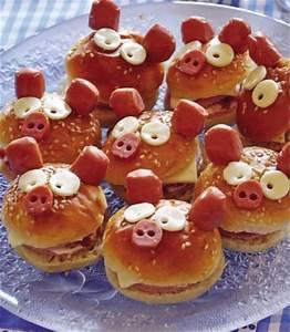Recette Salée Halloween : mini burgers saucisse recette facile enfant gourmand ~ Voncanada.com Idées de Décoration