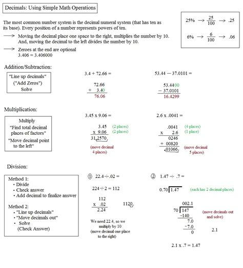 Decimal Operations Worksheets  Adding Subtracting And Multiplying Decimals 6th Grade