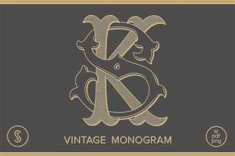 ks monogram sk monogram logo templates creative market