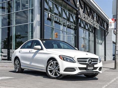 2013 mercedes benz c300 is available for sale! Pre-owned 2018 C300 4MATIC Sedan for Sale - $43995.0 | Mercedes-Benz Ottawa Downtown