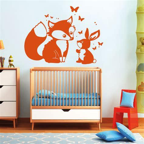 Wandtattoo Kinderzimmer Fuchs by F 252 Chse Wandtattoo Loft Wandsticker