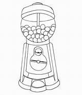 Gumball Getdrawings Getcolorings Wickedbabesblog Vending Coloringhome sketch template