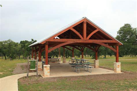 city park pavilion texas timber frames