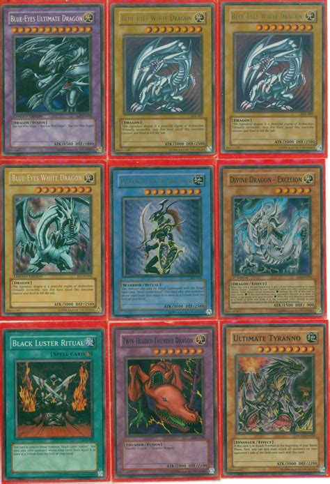 most expensive yugioh deck in the world my rarest yugioh cards 1 of 2 by shadow985 on deviantart