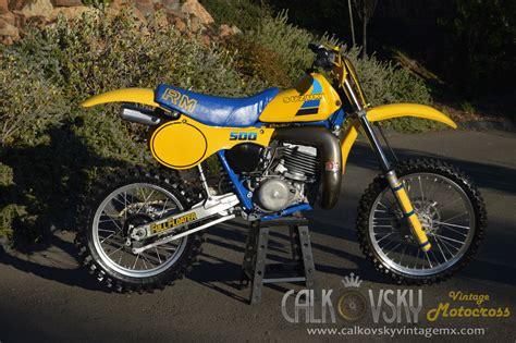 suzuki motocross bikes for sale 1984 suzuki rm 500 vintage motocross dirt bike