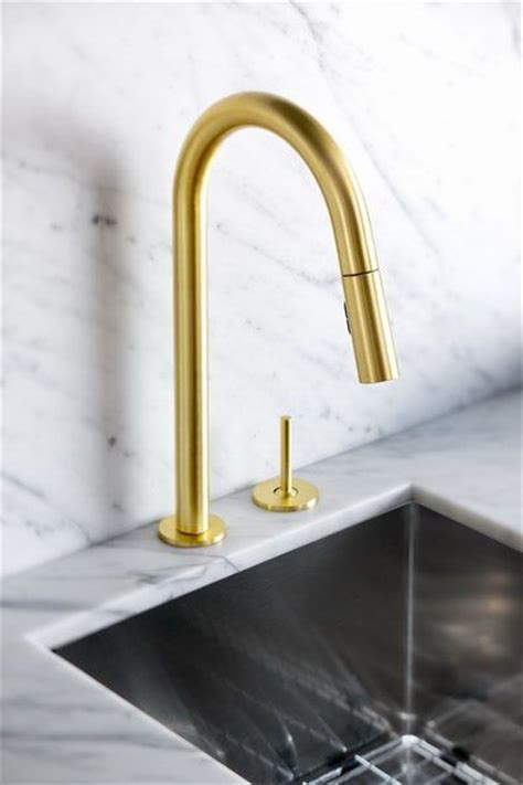 Dornbracht Kitchen Faucet Gold by Aquabrass Quinoa Slim Kitchen Faucet In A Brushed