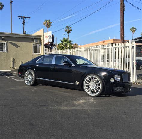 bentley custom rims rdbla bentley mulsanne forgiato wheels rdb la five