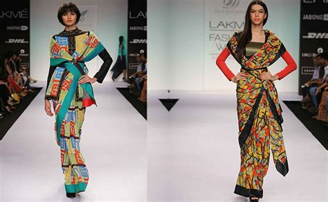 Scarf Draping Styles - saree draping styles to rock teachers day event lo stilista
