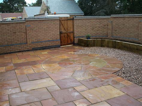 Back Garden Patio by Patio For A Compact Back Garden Fairfield Stotfold Rw