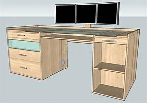 Gaming Schreibtisch Selber Bauen : projekt desktop deluxe das etwas ndere computergeh use 75 fertig seite 3 computerbase ~ Markanthonyermac.com Haus und Dekorationen