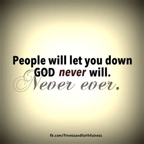 People Who Let You Down Quotes
