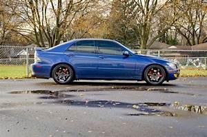 2002 Lexus Is300 Manual Trans On 18x8 5  30 Volk Te37s
