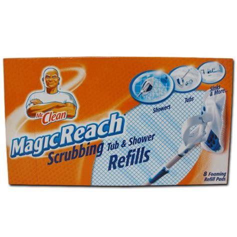 Mr Clean Bathroom Cleaner Pads by Save 4 40 Mr Clean 443863 Magic Reach Scrubbing Refill