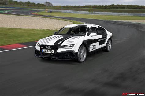 Autonomous Audi Rs7 Piloted Driving Concept Track Review