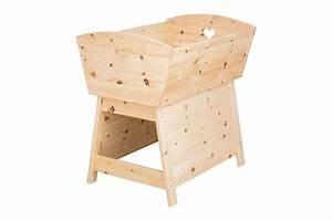 Baby Wiege Holz : umbausatz baby wiege zum gitterbett zirben kinderzimmerm bel die holzartikel manufaktur shop ~ Frokenaadalensverden.com Haus und Dekorationen
